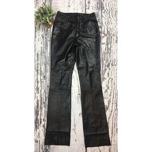 "Wilson Leather Pants - Sz 4 x 34.5"""